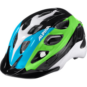 Alpina Rocky Helmet black-blue-green